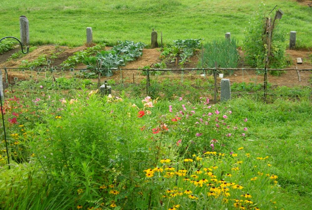 And a big garden.......