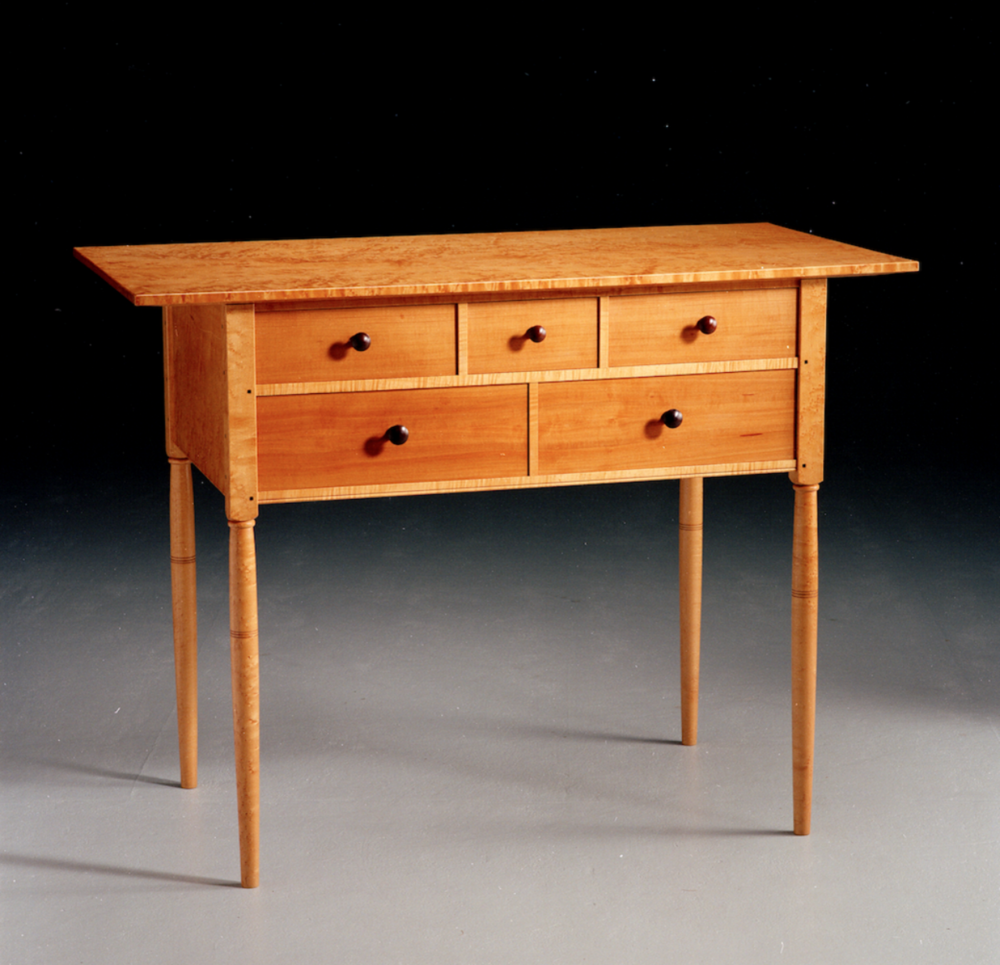 Shaker side table, 1993
