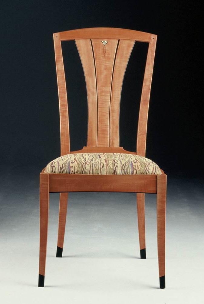 Pear side chair