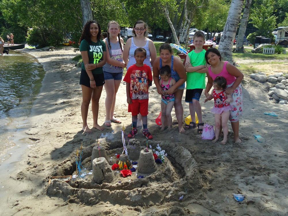 Sand Castle contests