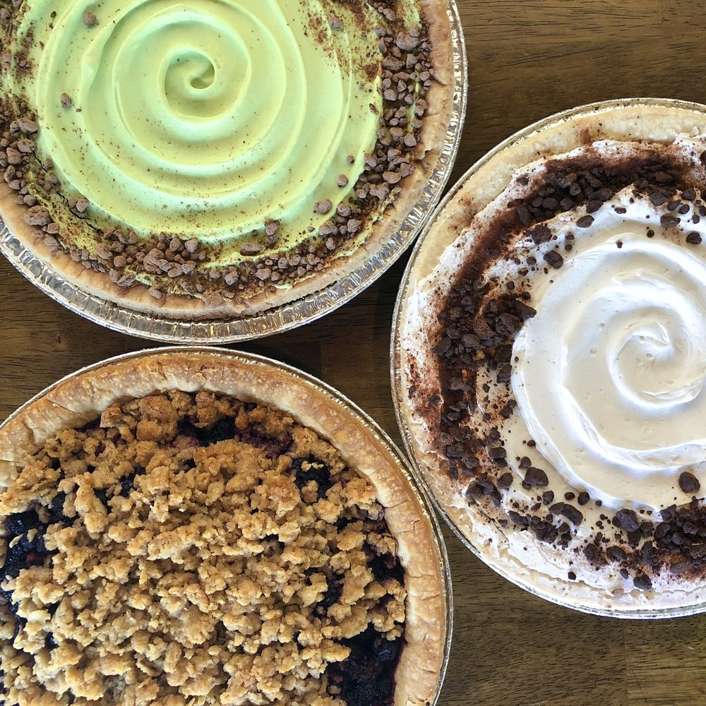 March Specials - Irish Soda Bread: 3/9 through 3/17Pi Day: (pre-order & on counter 3/14 only) Chocolate Cream, Mint Chocolate Cream, Mixed Berry, Pumpkin Bliss, Pecan, & Strawberry Rhubarb.Green Shamrock Cookies: 2/15 through the 3/17.Cupcakes: Green Vanilla, Mint, & other green-inspired throughout the month.