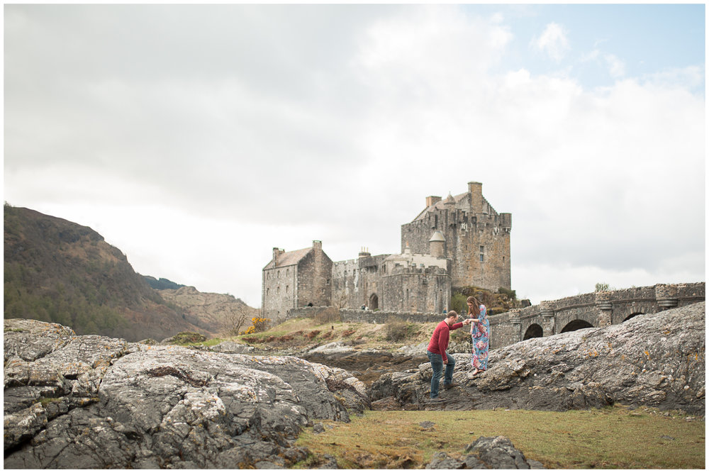 Aberdeen Scotland Wedding and Elopement Photographer Eilean Donan Castle