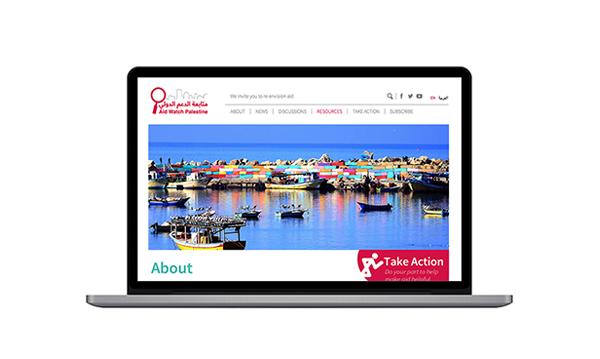 Aid Watch Palestine Website