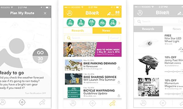 Bikeit iOS App