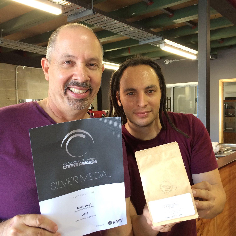 Extraction Artisan Coffee Wins Prestigious National Coffee Medal Extraction Artisan Coffee