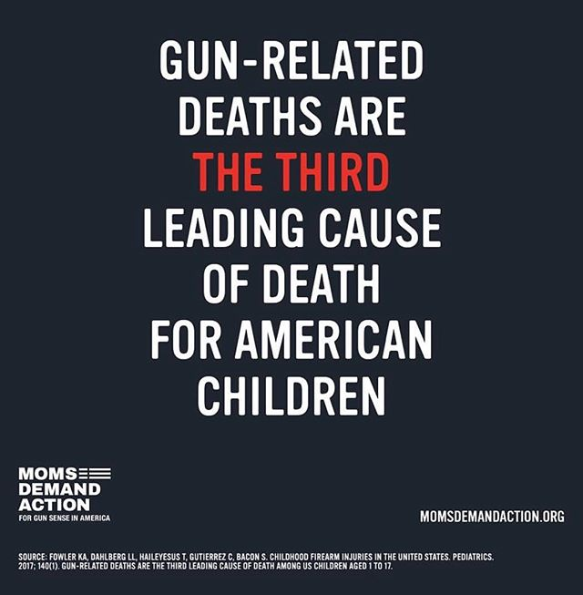 This is unacceptable America. 🇺🇸 So, we'll laugh/cry/rock-out together next Thursday night for @wagv ⚡️ Because doing nothing is  NOT AN OPTION!! #getyourtickets #tellyourfriends #doingnothingisnotanoption #keepshowingup  Repost: @momsdemand . . #ENOUGH  #neveragain #wecallBS #notonemore  #protectkidsnotguns #gunviolenceprevention #powertothepolls #commonsensegunreform #throwthemout #votethemout  #keepshowingup #banassaultweapons #safetyinnumbers  #thisisamovementnotamoment #womenagainstgunviolence #FunLoversUnite