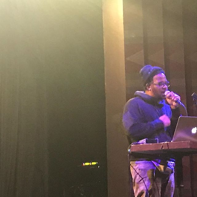 Open Mike Eagle. Live and super on time at Fun Lovers Unite. Thank you Mike. . #ENOUGH  #neveragain #wecallBS #notonemore  #protectkidsnotguns #gunviolenceprevention #powertothepolls #commonsensegunreform #throwthemout #votethemout  #keepshowingup #banassaultweapons #safetyinnumbers  #thisisamovementnotamoment #NoRA #WeCallBS #Safetyinnumbers  #womenagainstgunviolence #FunLoversUnite