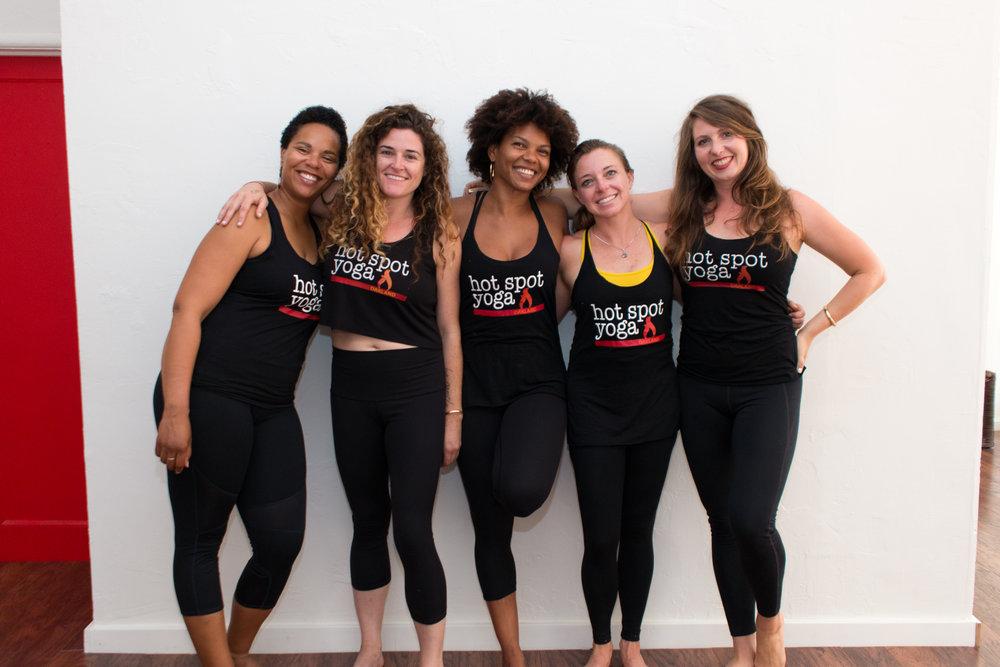 Hot Spot Yoga Group Programs