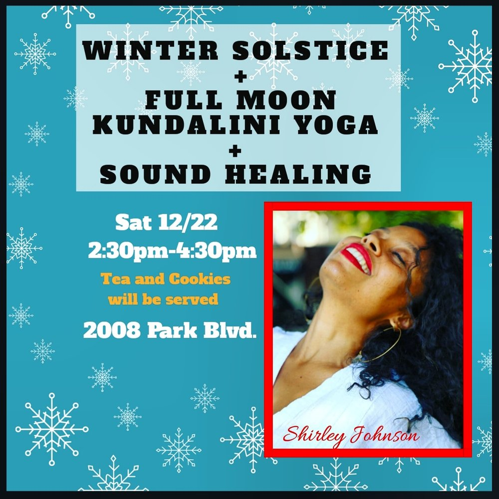 Hot Spot Yoga Oakland Winter Solstice + Full Moon Kundalini Yoga + Sound Healing