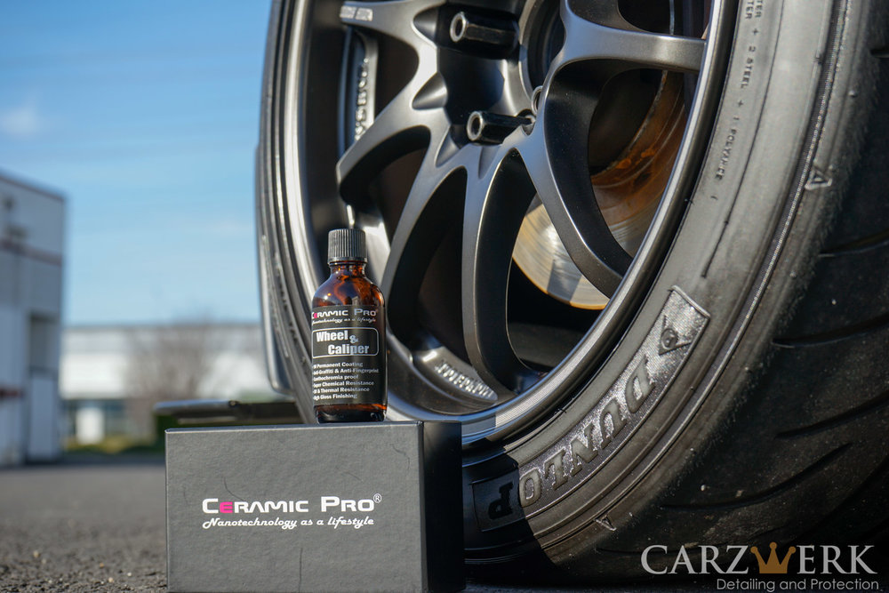 Ceramic Pro Wheel & Caliper Coating  Donated by Carzwerk. Estimated value: $295. 1 winner.