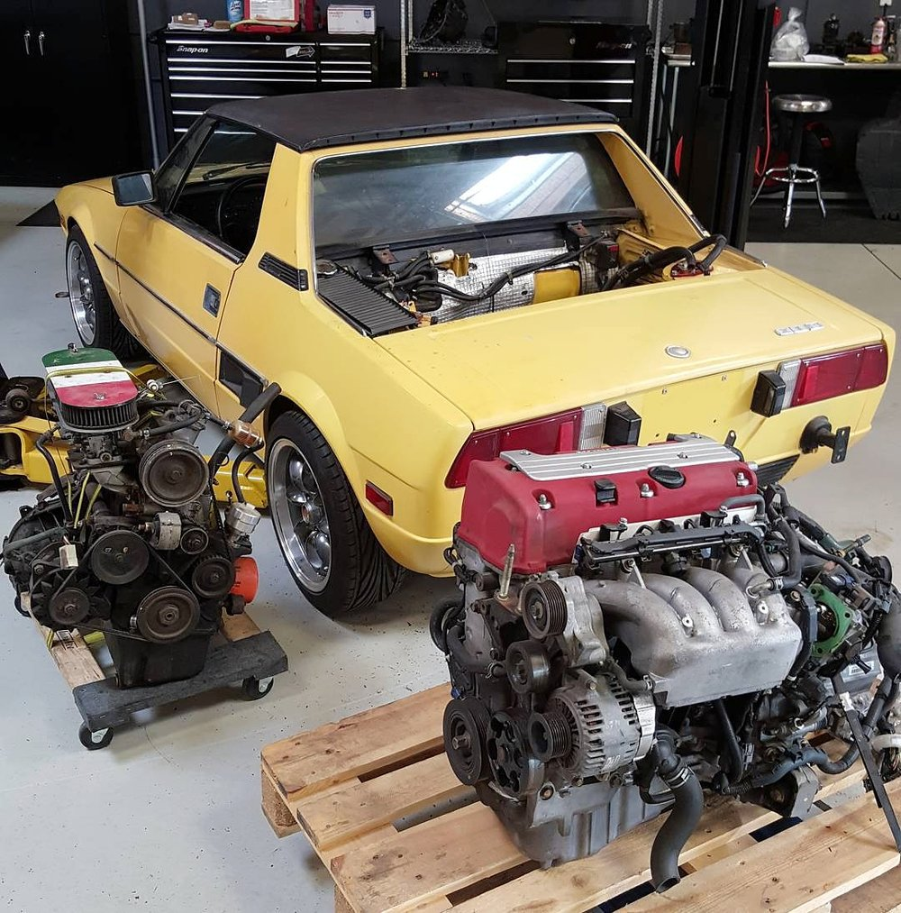 2000 lbs car is getting a JDM K20A Type R engine.