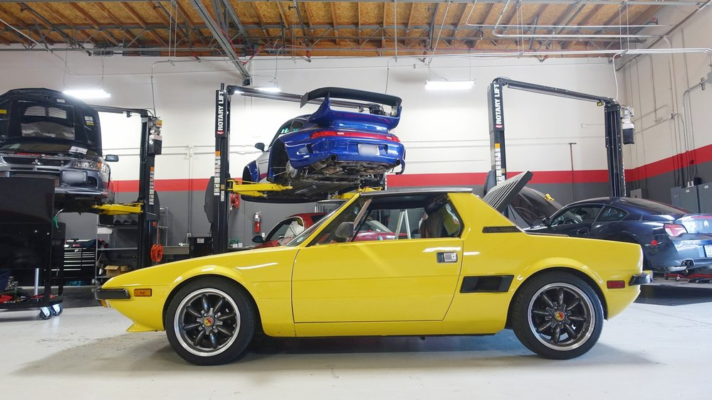 fiat x19 k20 swap trackspec autosports. Black Bedroom Furniture Sets. Home Design Ideas