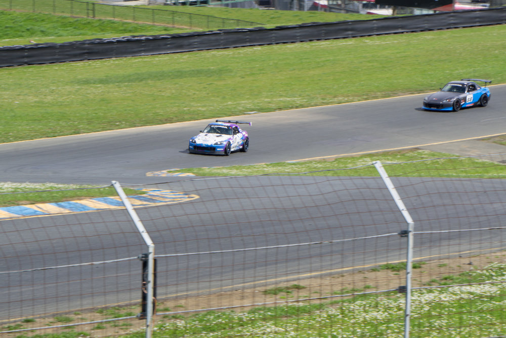 NASA S2000 V6 ST4 Sonoma Raceway Trackspec Autosports