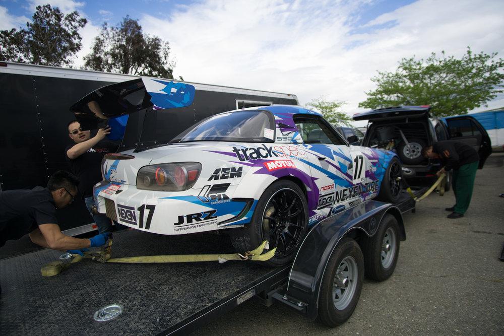 Trackspec Autosports S2000 NASA ST4 JSwap Thunderhill Racewway