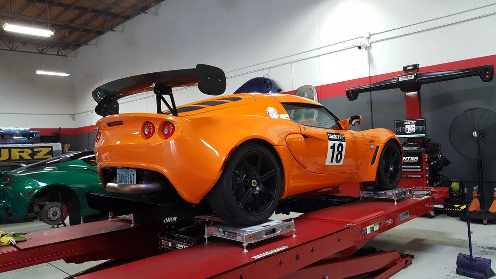 Lotus Exige Trackspec