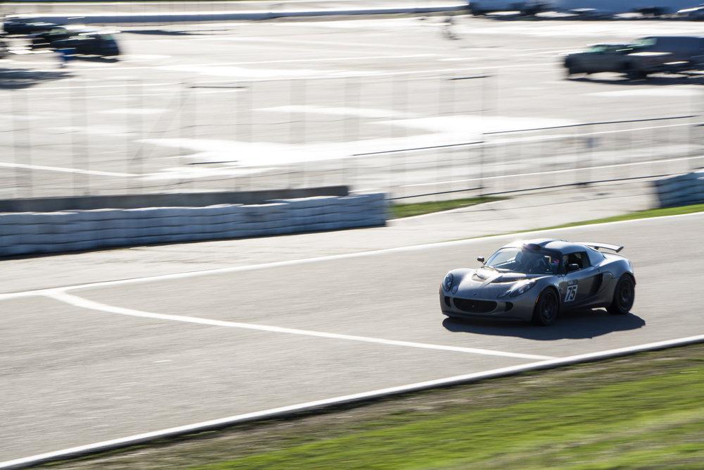 Lotus Exige Trackspec Autosports Thunderhill Raceway
