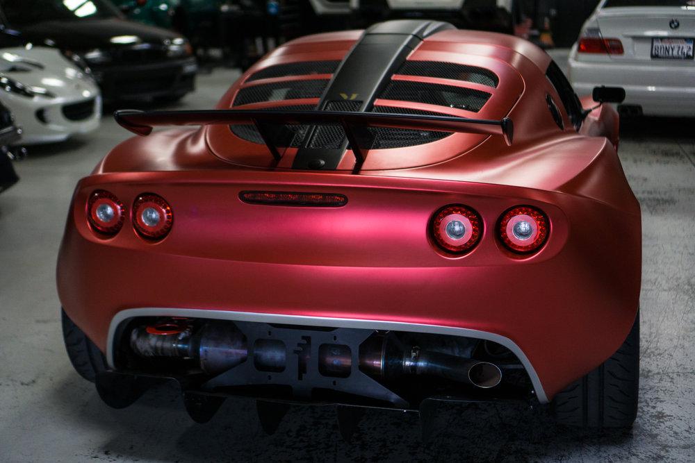 Lotus Exige Trackspec Autosports Techwrap Strawberry
