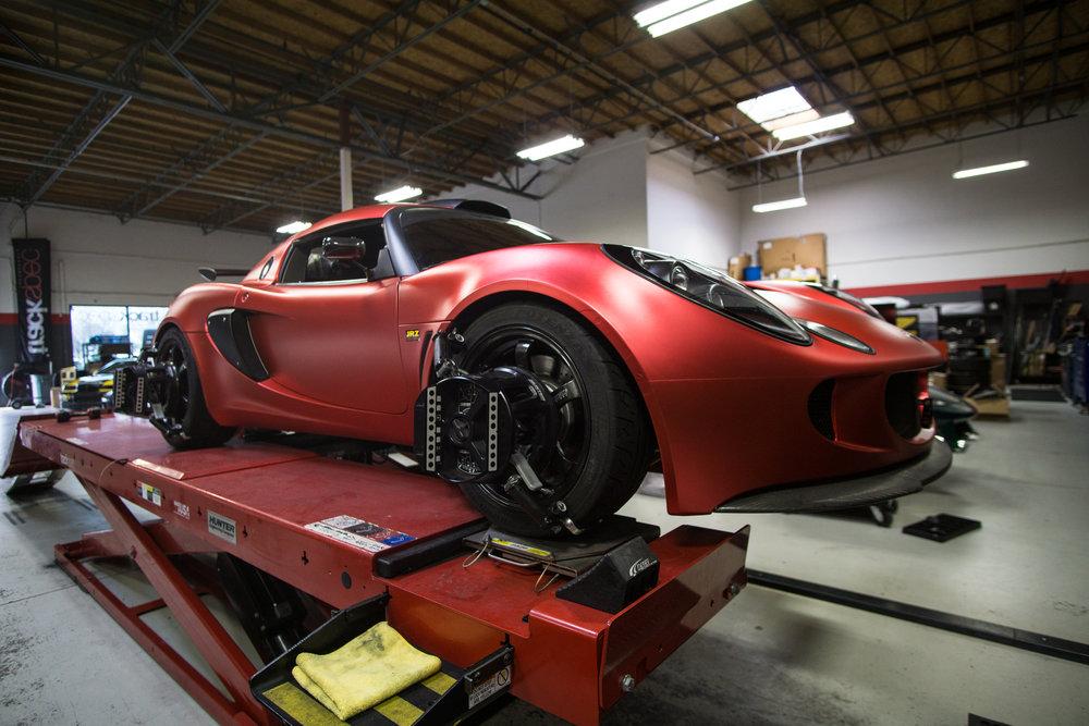 Trackspec Autosports Lotus Exige Techwrap Strawberry
