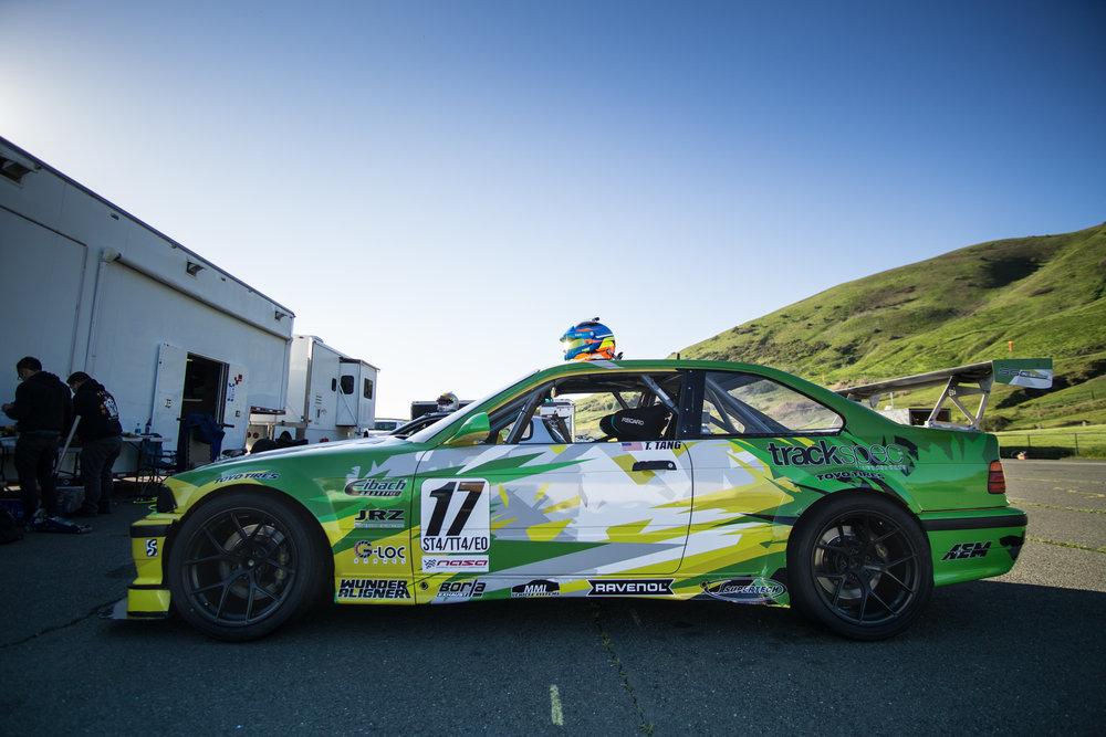 E36 M3 Trackspec Autosports Nasa ST4 Tom Tang