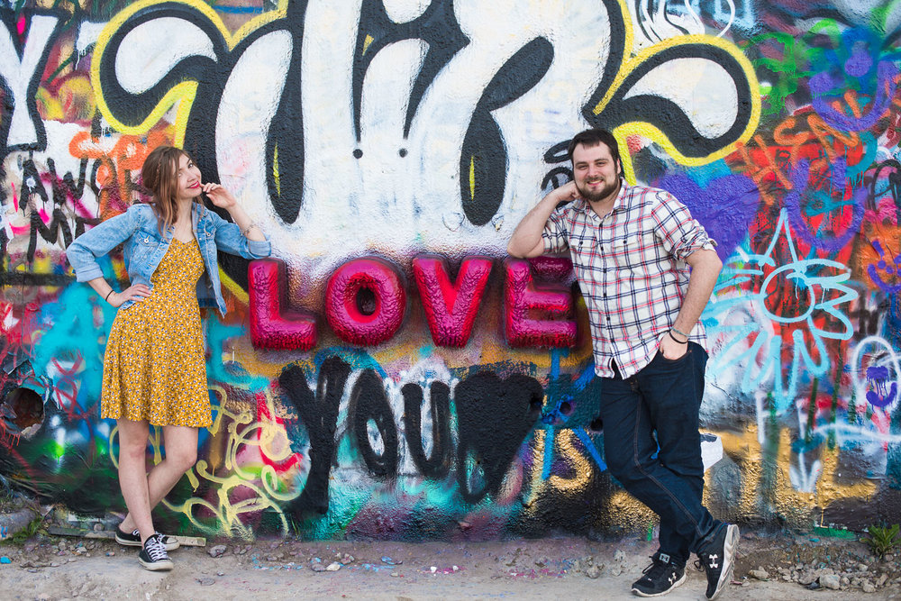 Austin Engagement Session at Hope Graffiti Park -7.jpg