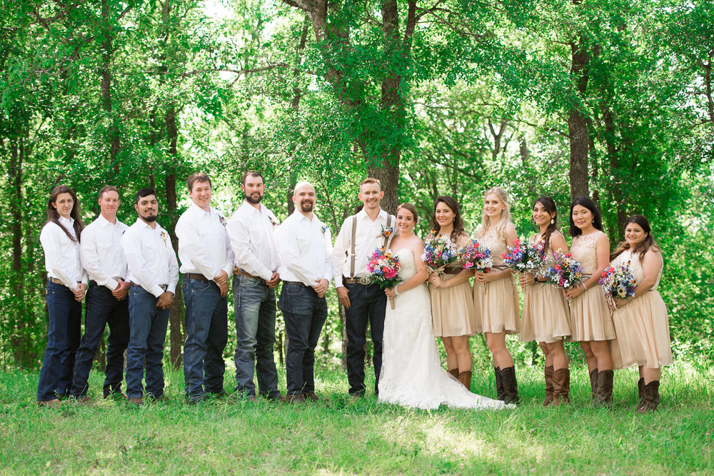 57 Wedding party on watson family farm in luling texas.jpg