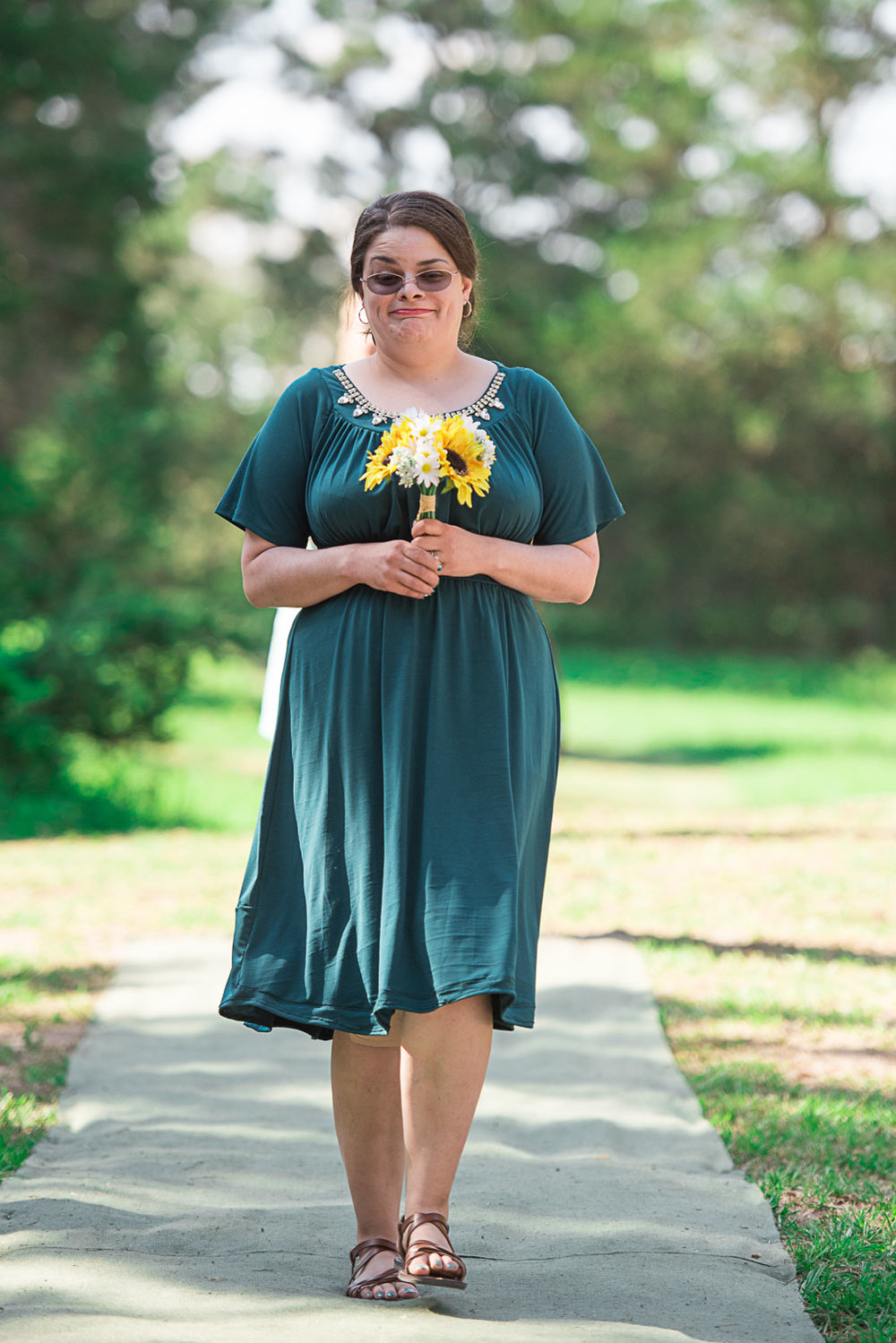 42 maid of honor walking down the aisle.jpg