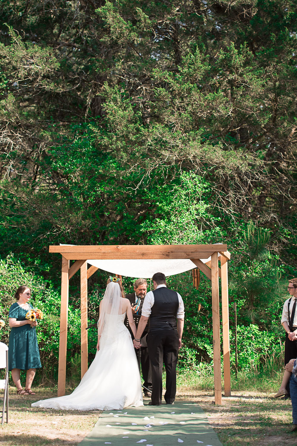 67 outdoor wedding in forest in texas.jpg