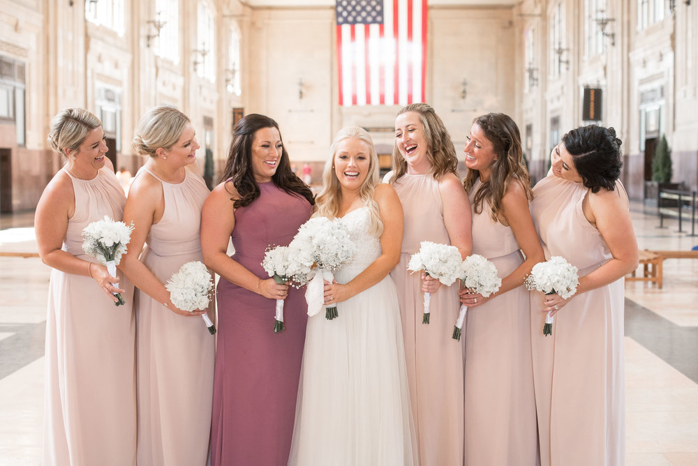 67 bride and bridesmaids at Union Station.jpg