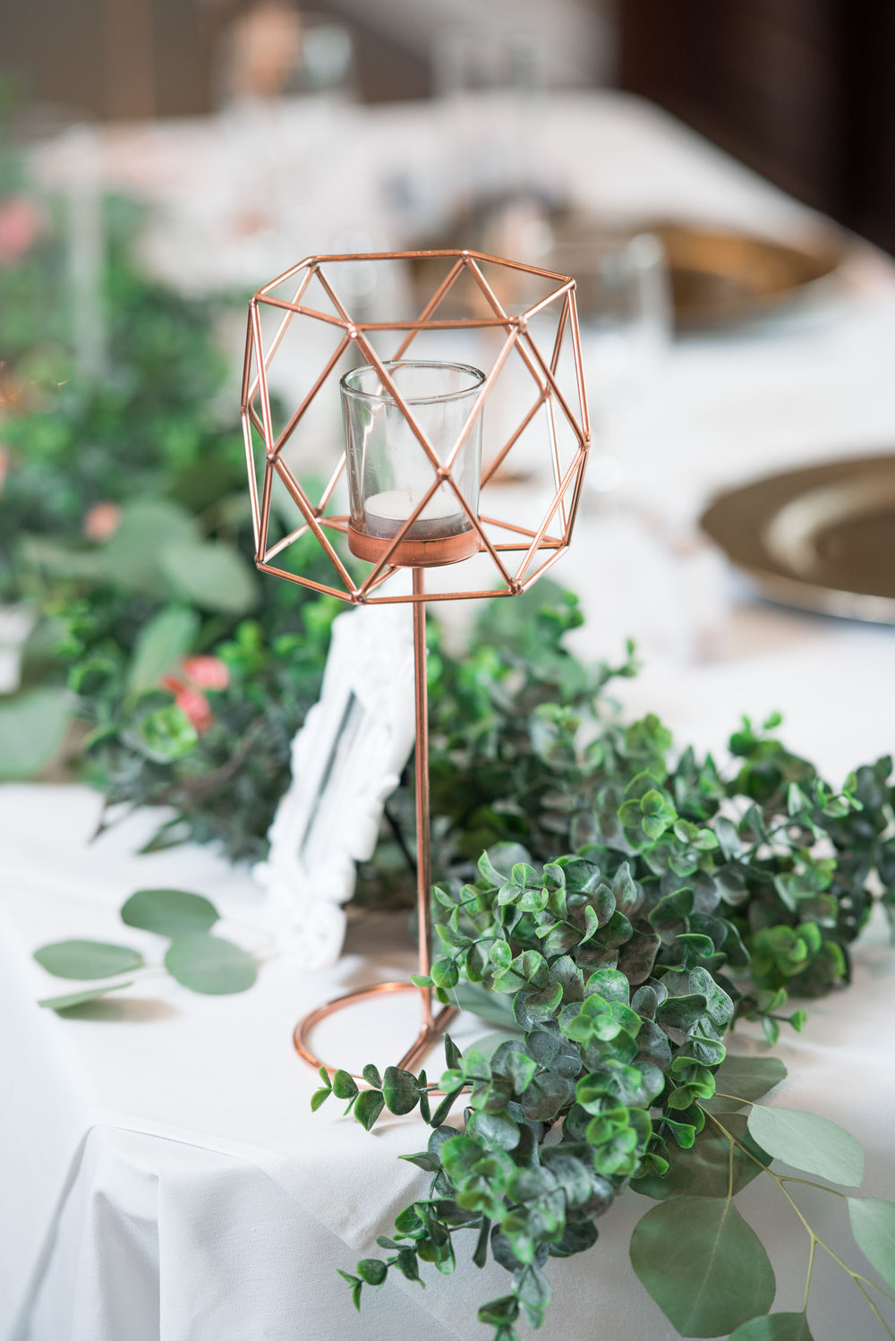 43 hexagonal rose gold wedding details.jpg