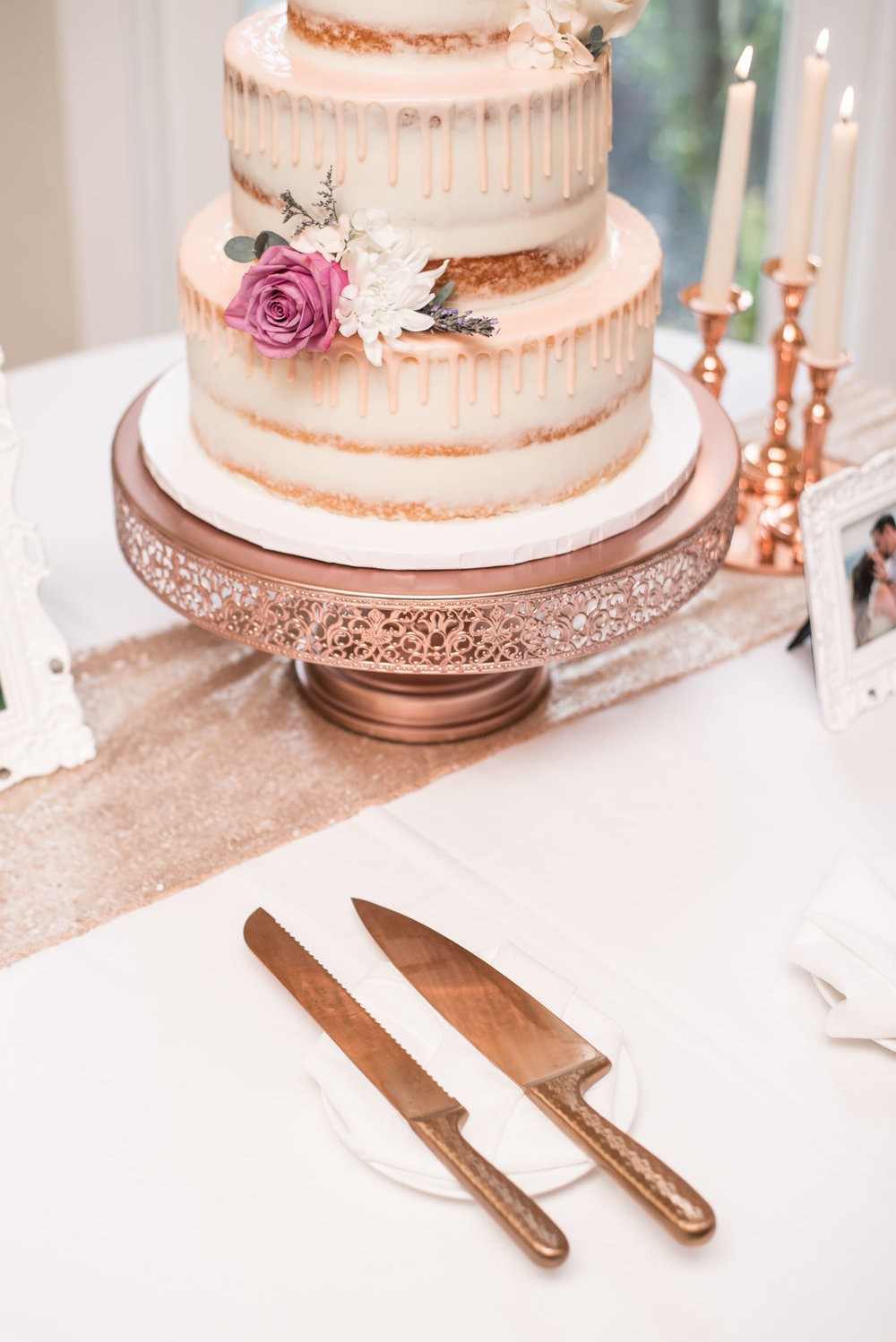 46 rose gold wedding cake knife set.jpg