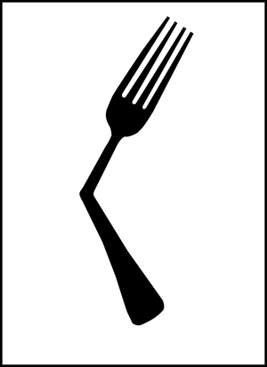 Fork-Art By Matthew Bartik
