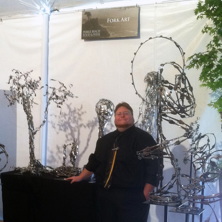 Matthew at The Pebble Beach Food & Wine Festival, 2011