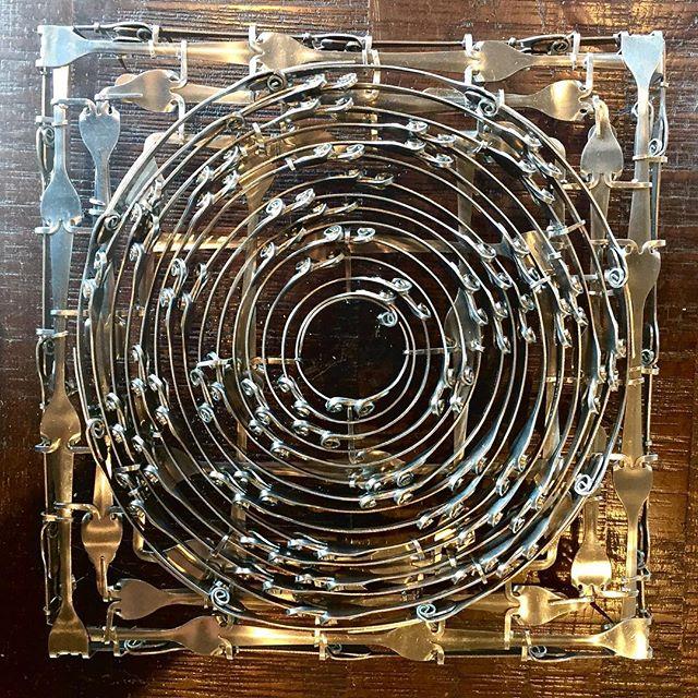 A #sneakpeak of the current #workinprogress more to be revealed soon! #sculpture #forkartgetbent #forkart #art #artistsoninstagram #artwork #myart #stainlesssteel #metal #metalart #sculptures #publicart
