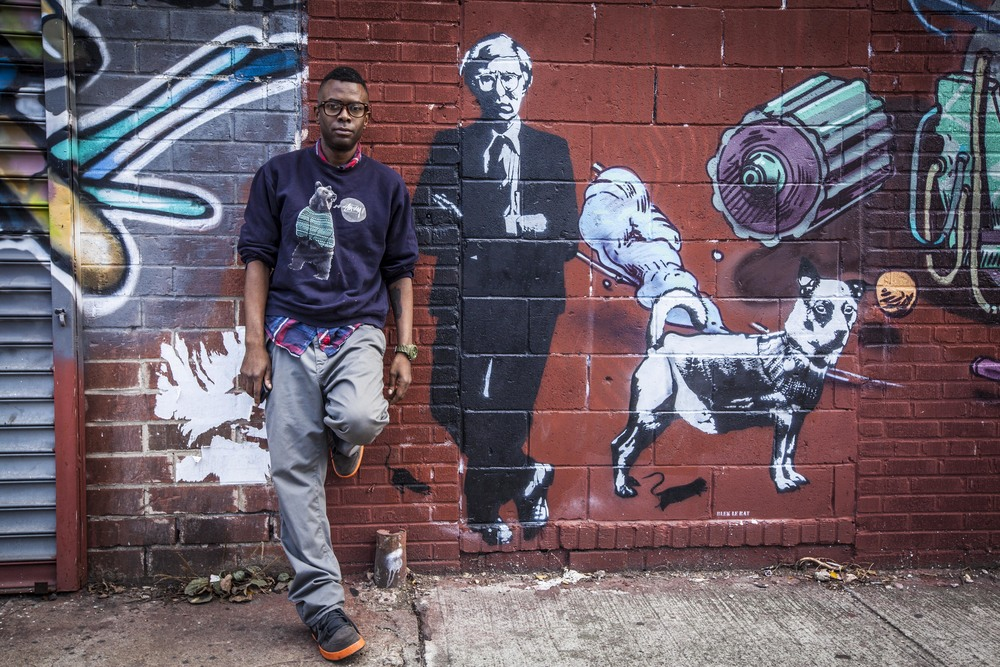 "Dj Black panther Andy Warhol ""Brooklyn"