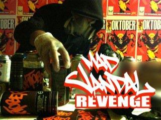 "Oktober Zero - ""MadVandal""  Cover Art"
