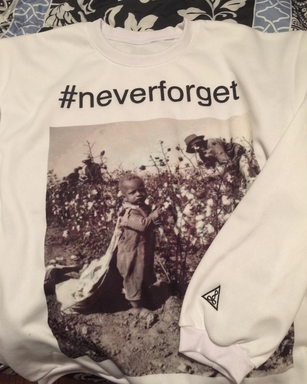 Life Major SweatShirts #Neverforget