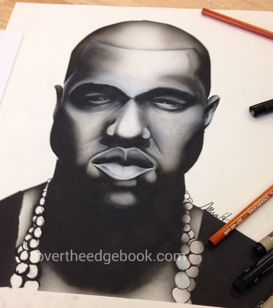 Kanye West #HipHopArtbook Volume #1