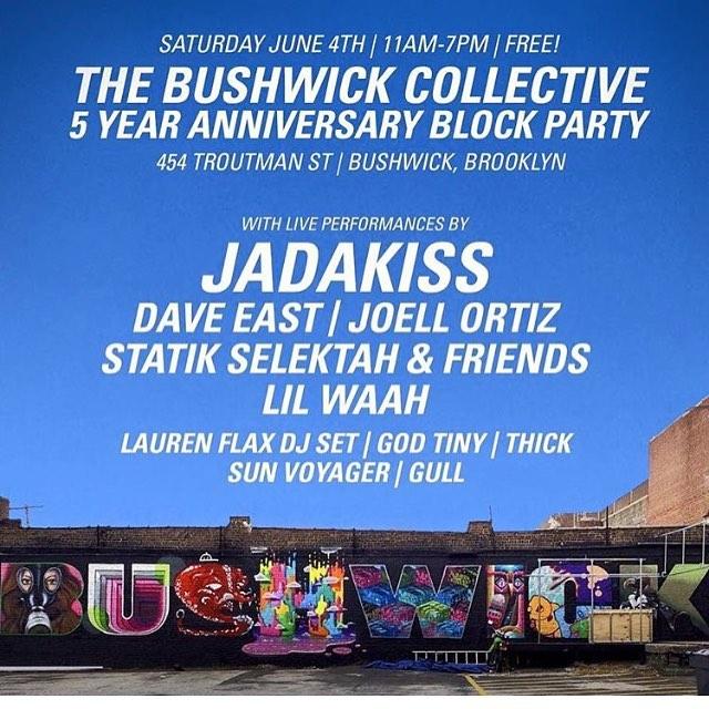 Bushwick Art Collective Block Party
