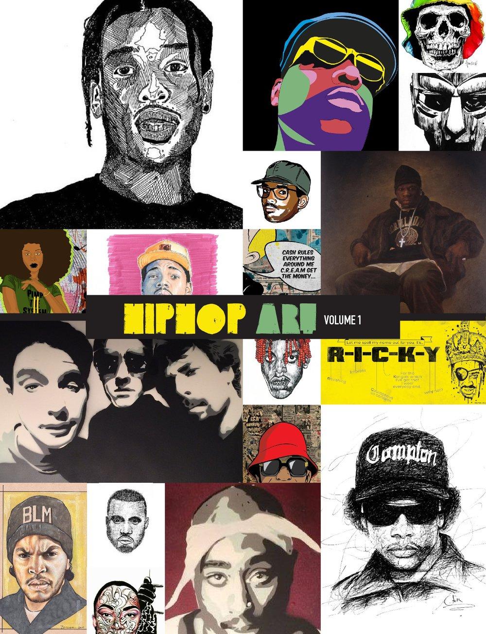 Hip Hop Art Book Vol. 1
