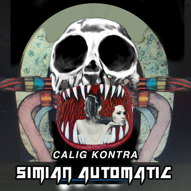 Simian Automatic - Calig Contra 2018 cover art
