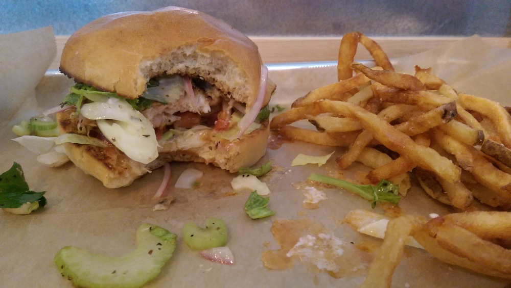 The Yard Bird-ger Buns Burgers Rhinebeck