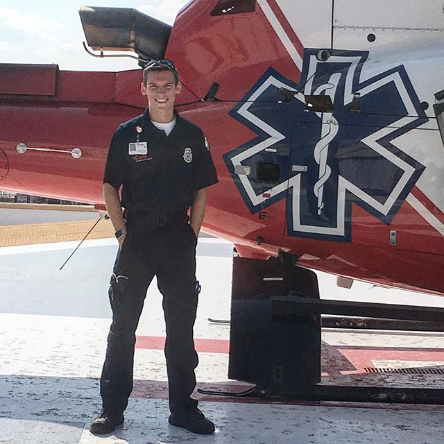 Alec Campbell, a 2018 Sights & Sounds co-director, is not only a full time student, but also a part time EMT-B with Carle Arrow Ambulance in Champaign. There is often a lot of stress associated with this job, but Alec loves providing medical care and proper transportation to patients in need. . . #BeyondSAA