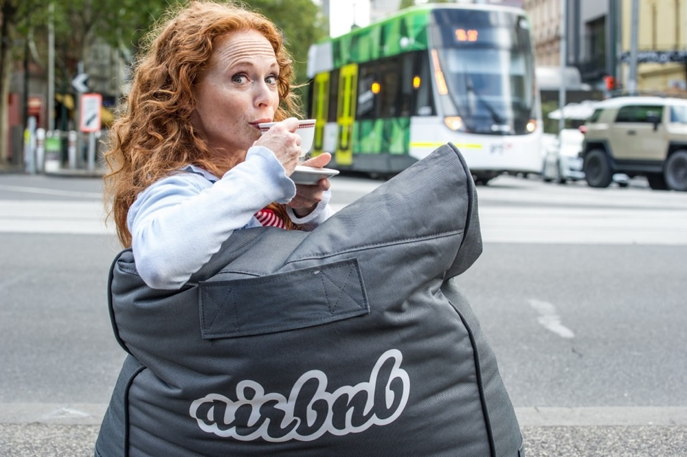 Lana Schwacz, Airbnb & Melbourne Comedy Festival