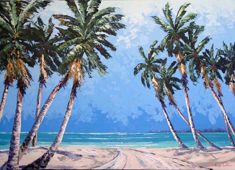 """""""Moonlight Bay"""" - 60x90 - $9,800.00"""