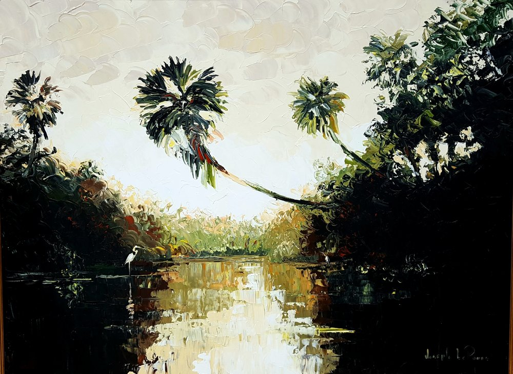 """""""River Dawn"""" - 36x48 - $4,500.00"""