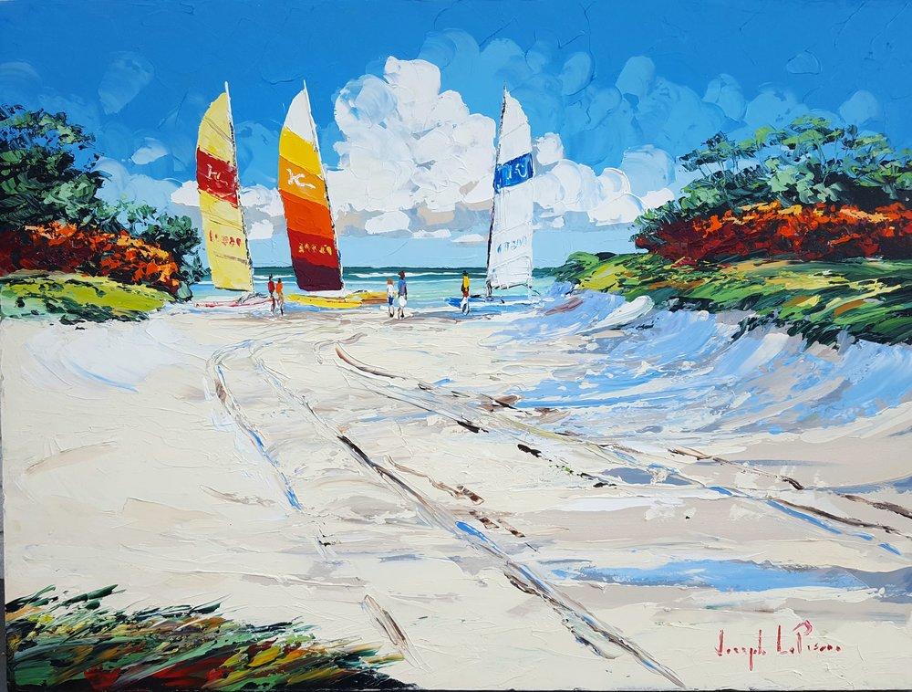 """""""Hobie Cove Access"""" - 30x40 - $3,200.00"""