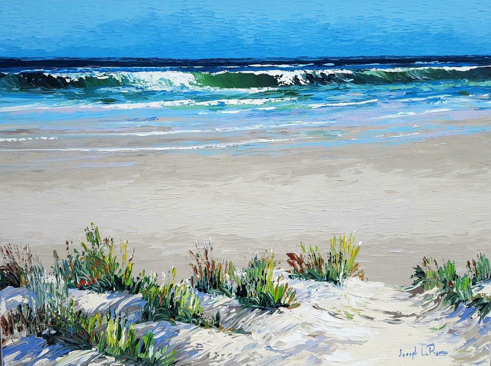 """""""Dune Grass"""" - 30x40 - $3,200.00"""