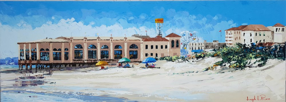 """Music Pier"" - 24x66 - Ocean City, NJ Boardwalk - $4,000.00"