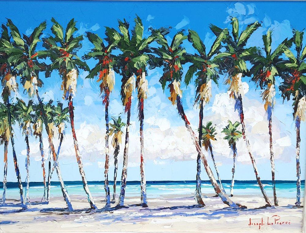 """Sunfest Beach"" - 30x40 - $3,200.00"