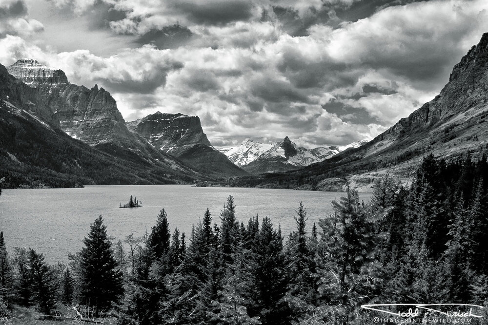 Saint Marys Lake - Glacier National Park